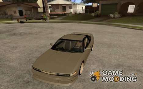 Nissan Silvia80 - EMzone Edition for GTA San Andreas