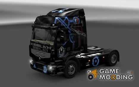 Скин Keelah Se'lai для Renault Premium for Euro Truck Simulator 2
