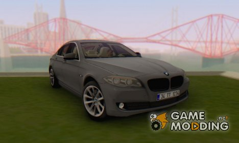 BMW 520d F10 2012 for GTA San Andreas