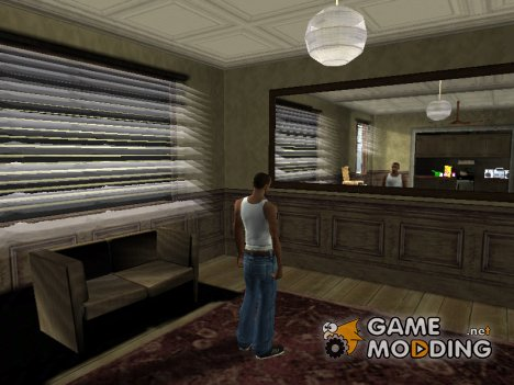Open all interiors для GTA San Andreas