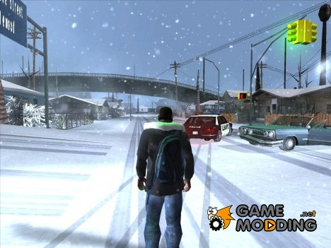 Winter Pack (Low PC) для GTA San Andreas