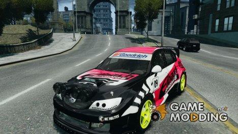 Subaru Impreza WRX STI Rallycross Eibach Springs для GTA 4