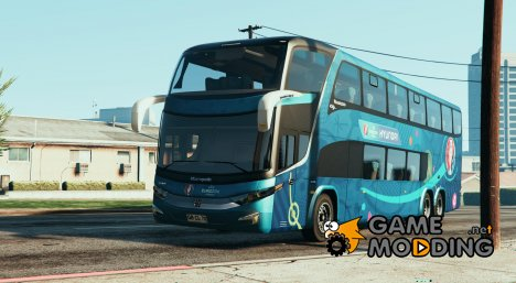 Marcopolo Paradiso 1800 DD - Euro 2016 for GTA 5