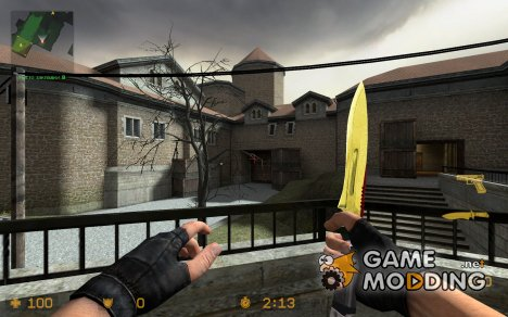 D1337 Knife V2 [CSS] для Counter-Strike Source