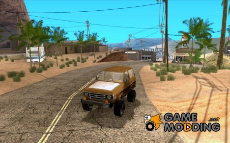 Toyota Land Cruiser 70 для GTA San Andreas