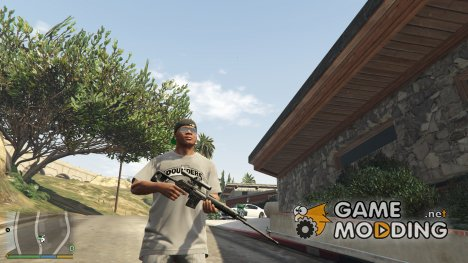 Dragunov SVD (Black) for GTA 5