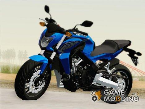 Honda CB650F Azul for GTA San Andreas