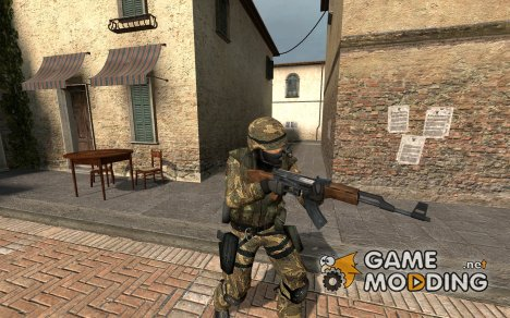 Urban Spanish Camo Nato Kfor Mission для Counter-Strike Source