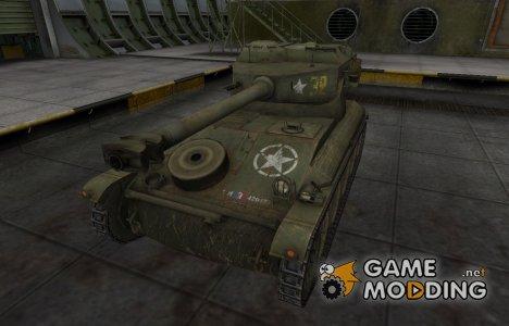 Исторический камуфляж AMX 12t для World of Tanks