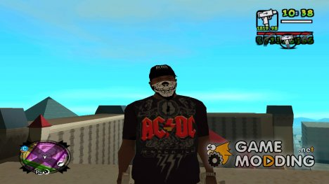 Gangster clothes pack for GTA San Andreas