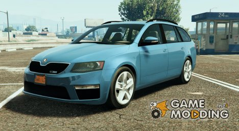 2014 Škoda Octavia VRS Estate for GTA 5