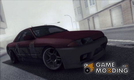 Nissan Skyline R32 Red Devil для GTA San Andreas