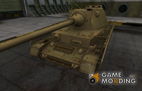 Пустынный скин для танка PzKpfw IV Schmalturm for World of Tanks
