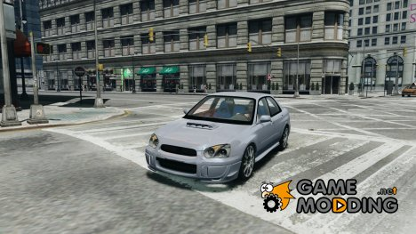 Subaru Impreza for GTA 4