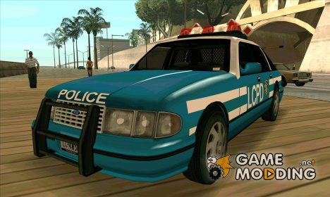 Beta Police car HD for GTA San Andreas
