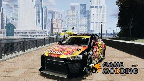 Mitsubishi Lancer Evo X Ryo King for GTA 4
