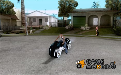 Tron legacy bike v.2.0 for GTA San Andreas