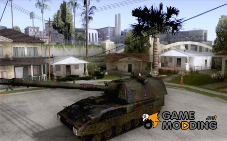 Panzerhaubitze 2000 for GTA San Andreas
