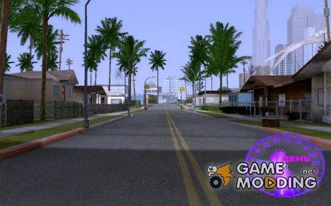 Красивый спидометр for GTA San Andreas