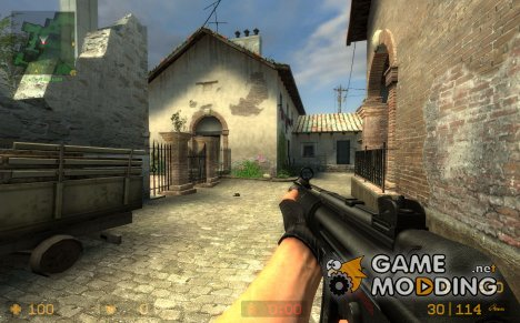MP5 SD COD4 attempt для Counter-Strike Source