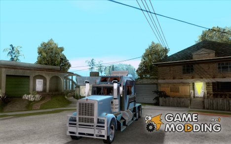 Custom Kenworth w900 - Custom - Trailer для GTA San Andreas
