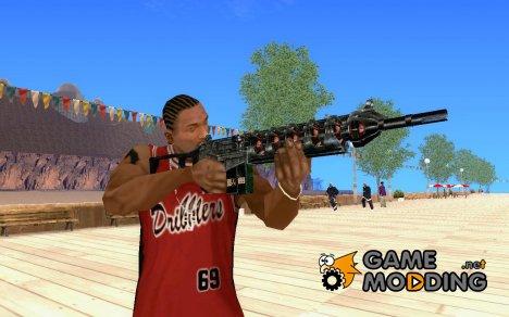 Gauss Rifle for GTA San Andreas
