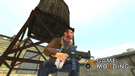 Пистолет-пулемёт UMP45 v.3 for GTA 4