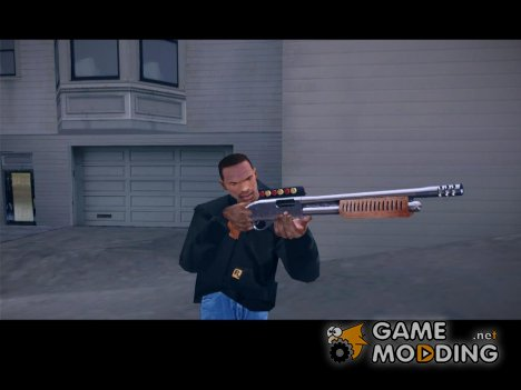 Chromegun woody chrome для GTA San Andreas