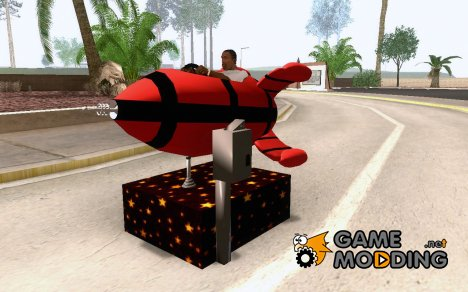 Rocket Ride Go Kart для GTA San Andreas