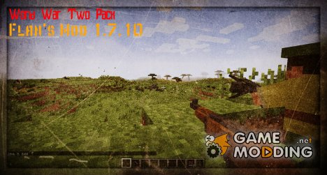 World War Two Pack для Flan's Mod for Minecraft