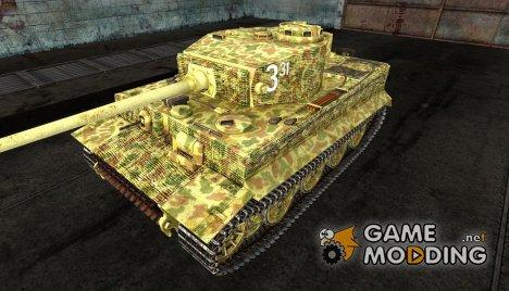 Шкурка для PzKpfw VI Tiger для World of Tanks