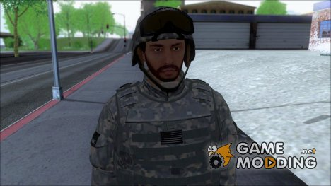GTA V Online Military Skin for GTA San Andreas