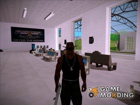 Ковбойская шляпа из GTA 4 v.3 для GTA San Andreas