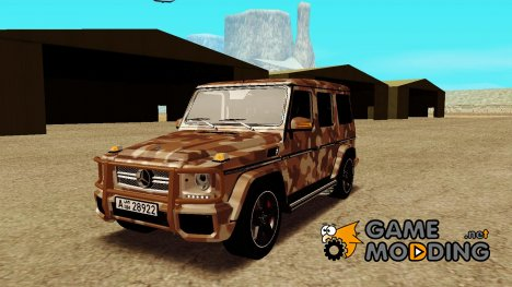 Mercedes Benz G65 Army Style [Ivlm] for GTA San Andreas