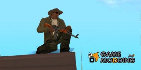 Новый пак HD оружия для GTA San Andreas