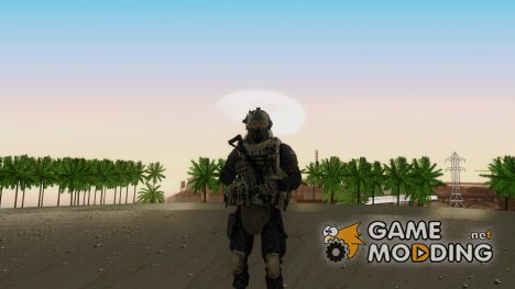 Modern Warfare 2 Soldier 3 для GTA San Andreas