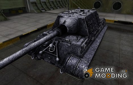 Темный скин для Jagdtiger for World of Tanks