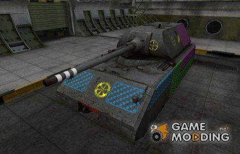 Качественные зоны пробития для Maus для World of Tanks