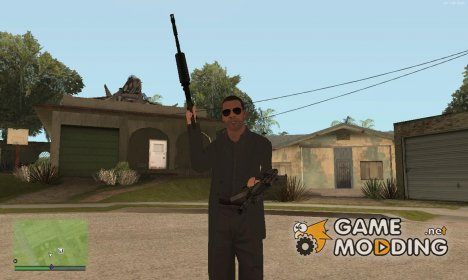 Double Wield All Weapons для GTA San Andreas
