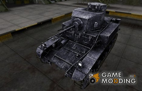 Темный скин для M3 Stuart для World of Tanks