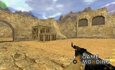 Dark Black Ak47 для Counter-Strike 1.6