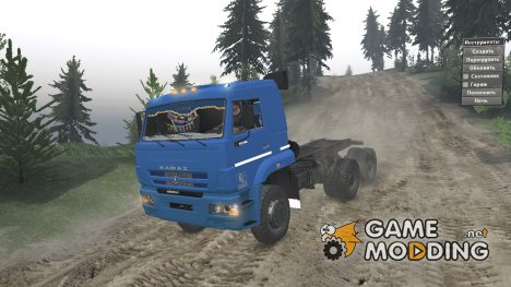 КамАЗ 6522 SV for Spintires 2014