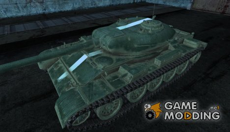 "Шкурка для Т-54 ""пражец"" для World of Tanks"