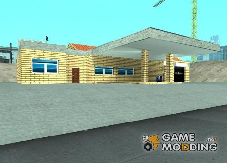 Новые текстуры старого гаража в Doherty для GTA San Andreas