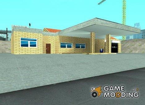 Новые текстуры старого гаража в Doherty for GTA San Andreas