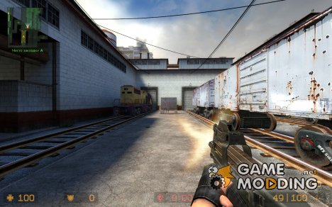 Default P90 retex for Counter-Strike Source