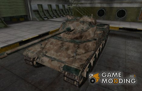 Французкий скин для AMX 50 100 для World of Tanks