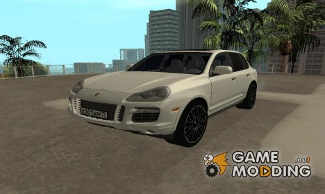 Porsche Cayenne Turbo S 2010 Stock for GTA San Andreas