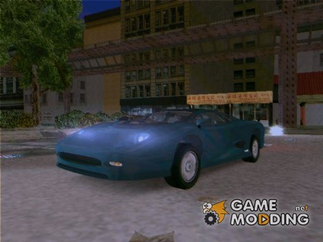Jaguar XJ220 for GTA 3