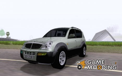 2005 SsangYong Rexton [ImVehFt] v2.0 for GTA San Andreas
